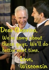 Wisconsin Apologizes